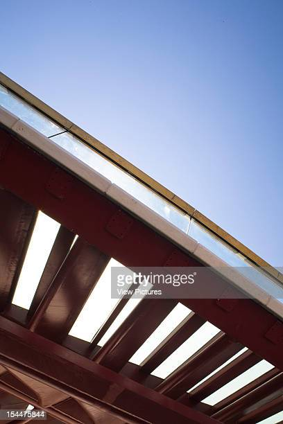 Grand CanalItaly Architect Venice Constitution Bridge Fishbone Steel Detail
