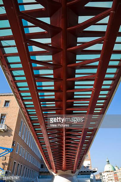 Grand CanalItaly Architect Venice Constitution Bridge The Underside Of The Fishbone