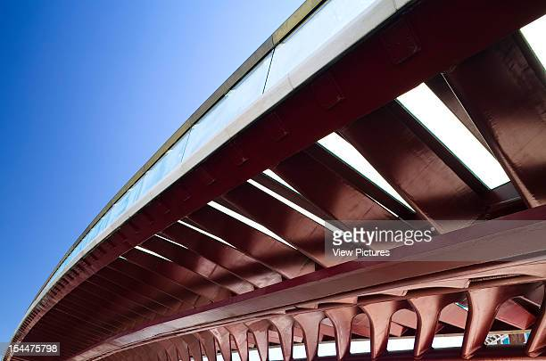 Grand CanalItaly Architect Venice Constitution Bridge Underside Of The Fishbone And Blue Sky