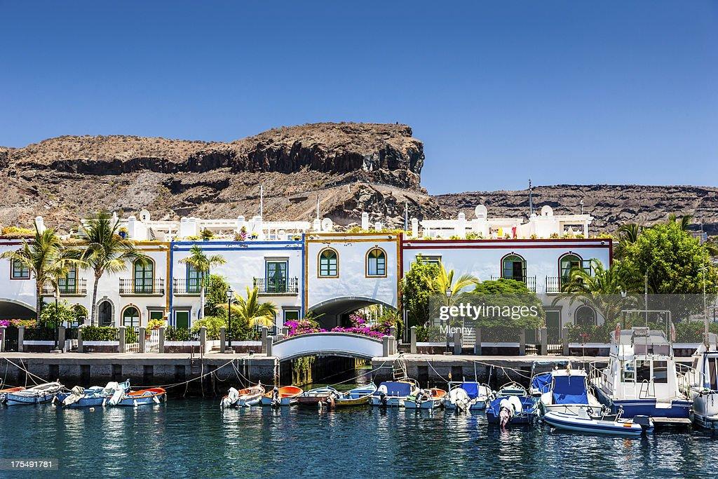 Grand Canary Puerto de Mogan : Stock Photo