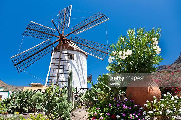 Grand Canary Traditional Spanish Windmill