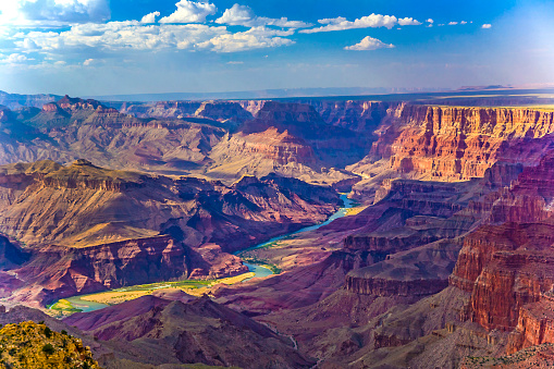 Grand canyon at sunrise 485927656
