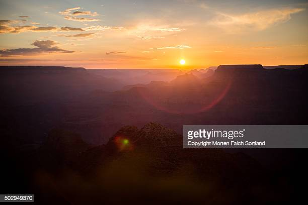 Grand Canyon at Sunset, Desert View Point