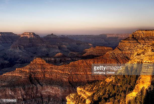 Grand Canyon at sunset from mather point