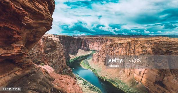 parque nacional del gran cañón - erosionado fotografías e imágenes de stock