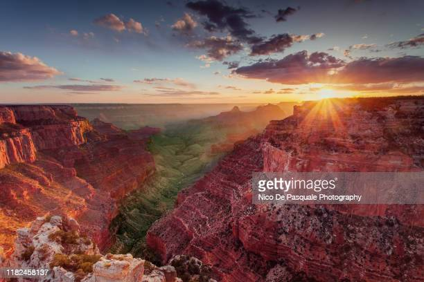 grand canyon - north rim - dramatic landscape stock pictures, royalty-free photos & images