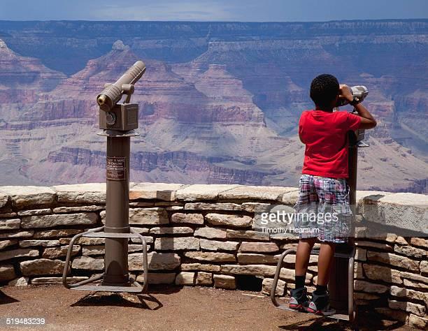 grand canyon, south rim vista point - timothy hearsum photos et images de collection