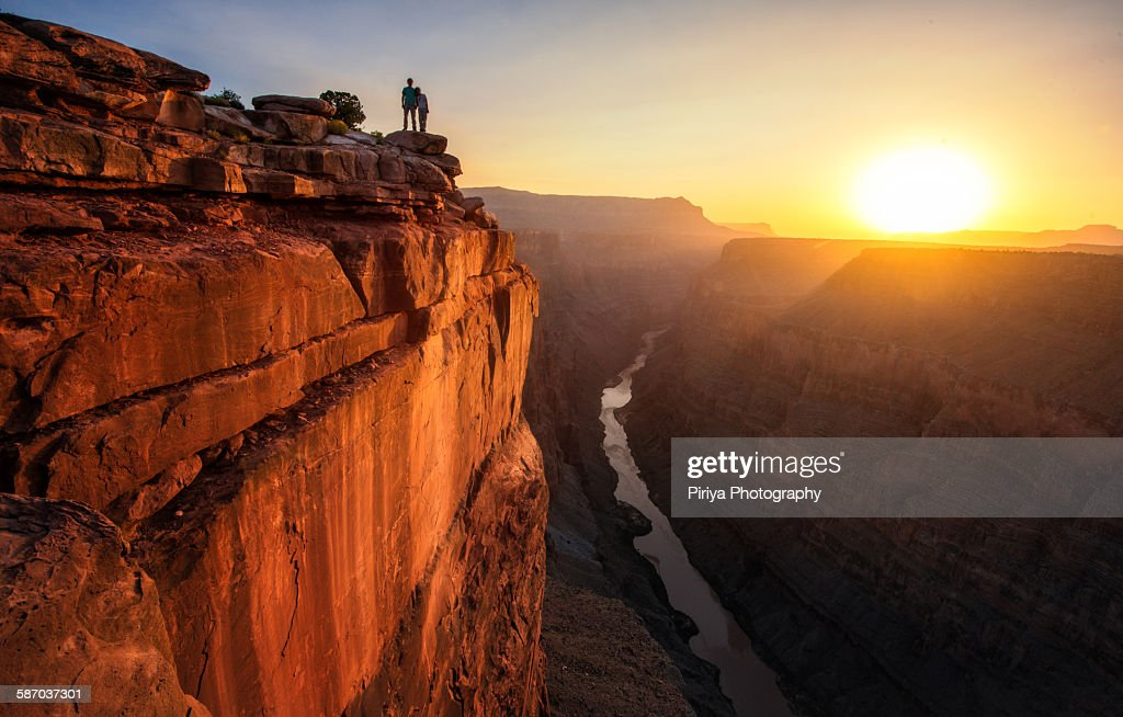 Grand Canyon sunrise : Stock-Foto
