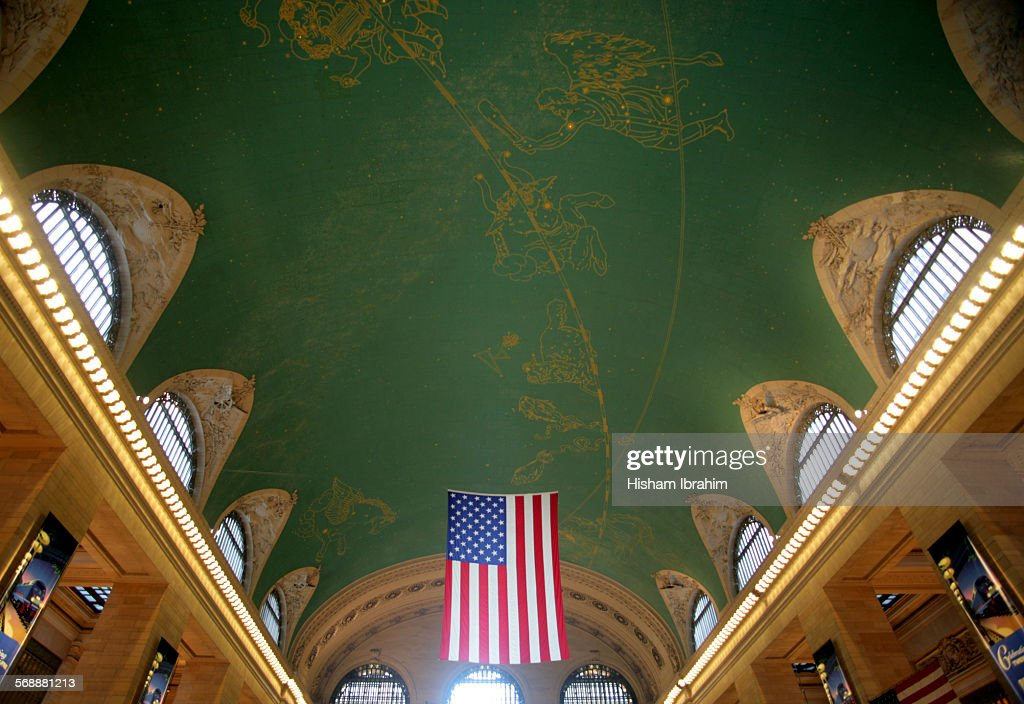 Grand Central Station ceiling, New York City : Stock Photo