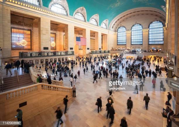 ニューヨーク市のグランドセントラル駅 - グランドセントラル駅 ストックフォトと画像