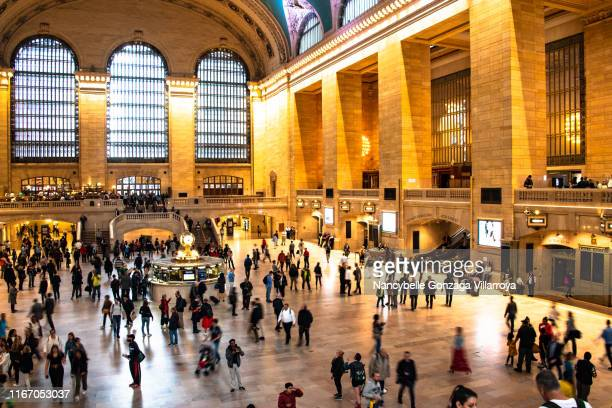 grand central station in new york city - nancybelle villarroya stock photos and pictures