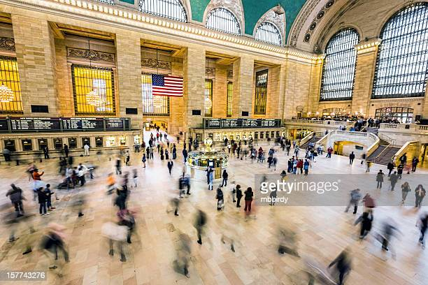 grand central station, new york city, usa - grand central station stock photos and pictures