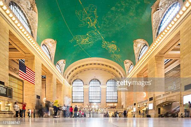 grand central station, new york - grand central station stock photos and pictures