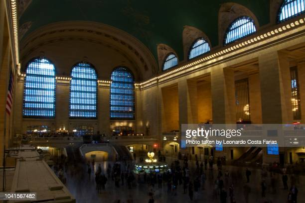 grand central station - leonardo costa farias stock photos and pictures
