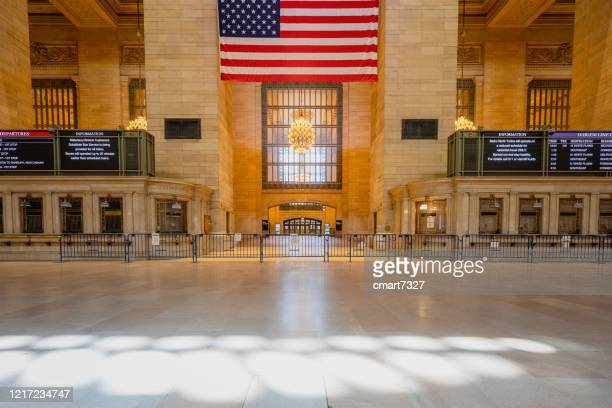 grand central station - new york coronavirus stock pictures, royalty-free photos & images