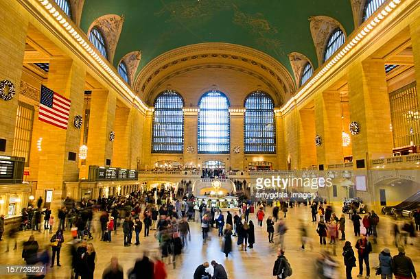 grand central station - grand central station manhattan stock pictures, royalty-free photos & images