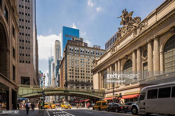 grand central station, the exterior - グランドセントラル駅 ストックフォトと画像