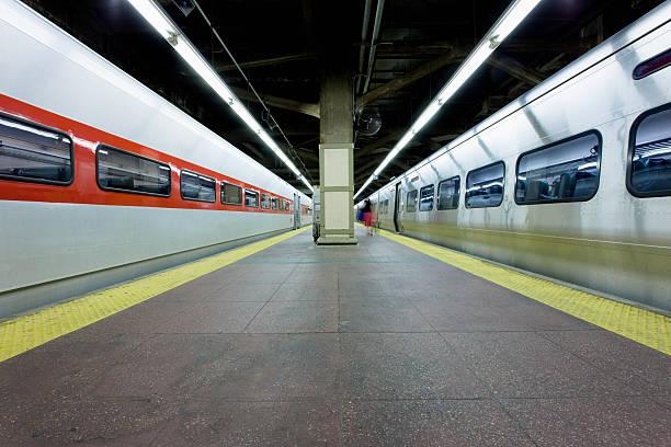 Grand Central Station Train Platform New York