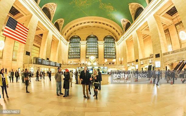 Grand Central Terminal Fisheye