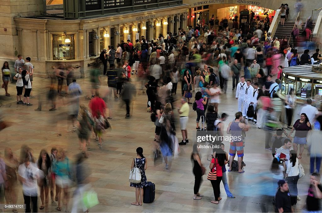 Grand Central Terminal, Manhattan : News Photo