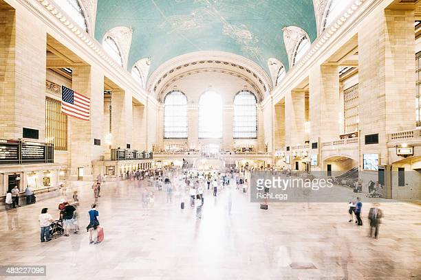 grand central terminal new york city - grand central station stock photos and pictures