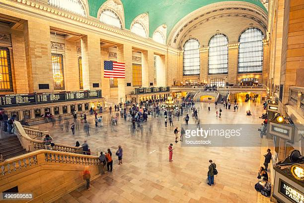 grand central terminal, new york city, usa - grand central station stock photos and pictures