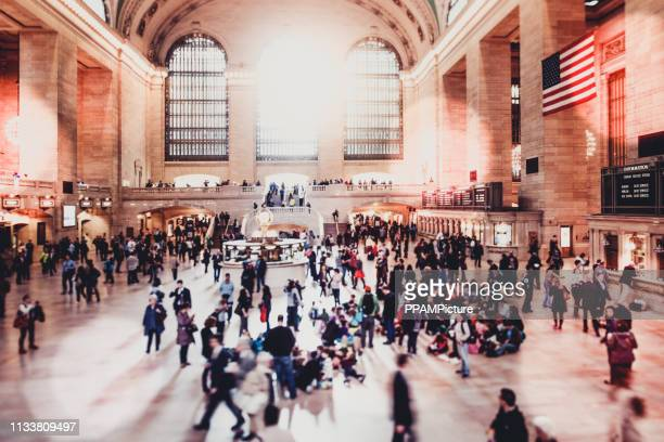 grand central terminal - railway station stock pictures, royalty-free photos & images