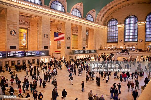 grand central terminal - grand central station stock photos and pictures