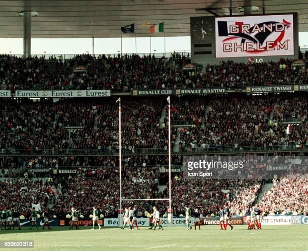 Grand Chelem de l Equipe de France France / Irlande Tournoi des 6 Nations 2002 Stade de France