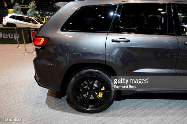 Grand Cherokee is on display at the 111th Annual Chicago Auto Show at McCormick Place in Chicago, Illinois on February 8, 2019.