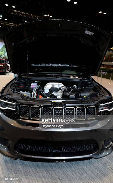 Grand Cherokee is on display at the 111th Annual Chicago Auto Show at McCormick Place in Chicago Illinois on February 8 2019