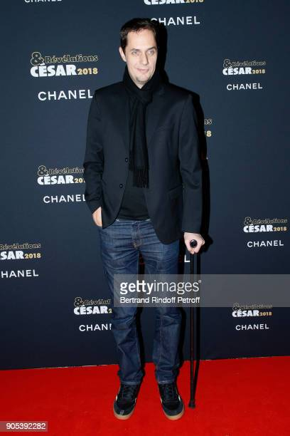 Grand Corps Malade aka Fabien Marsaud attends the 'Cesar Revelations 2018' Party at Le Petit Palais on January 15 2018 in Paris France
