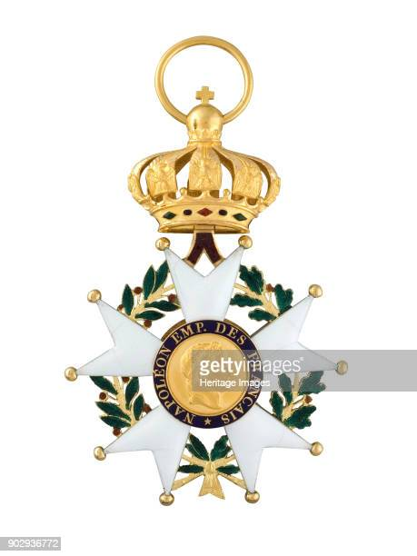Grand Cross of the Legion of Honour of Napoleon I. Found in the Collection of State History Museum, Moscow.