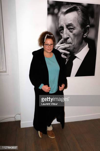 Grand Daughter of Robert Mitchum Carrie Mitchum attends Bruce Weber sign his book Mitchum x Weber during Nice Girls don't stay for breakfast...