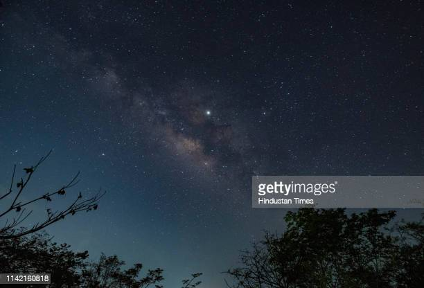 Grand display of the summer Milky Way, this is the best time of the year when one can see the beauty of our own galaxy in the night sky and the...