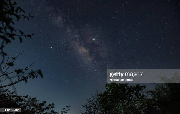 Grand display of the summer Milky Way this is the best time of the year when one can see the beauty of our own galaxy in the night sky and the...