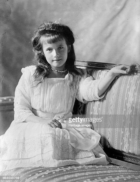 Grand Duchess Anastasia Nikolaevna of Russia c1908c1910 Anastasia Nikolaevna was the youngest daughter of Tsar Nicholas II and Tsarina Alexandra of...