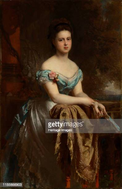 Grand Duchess Maria Alexandrovna of Russia, Duchess of Edinburgh and Duchess of Saxe-Coburg and Gotha , 1873. Found in the Collection of Royal...
