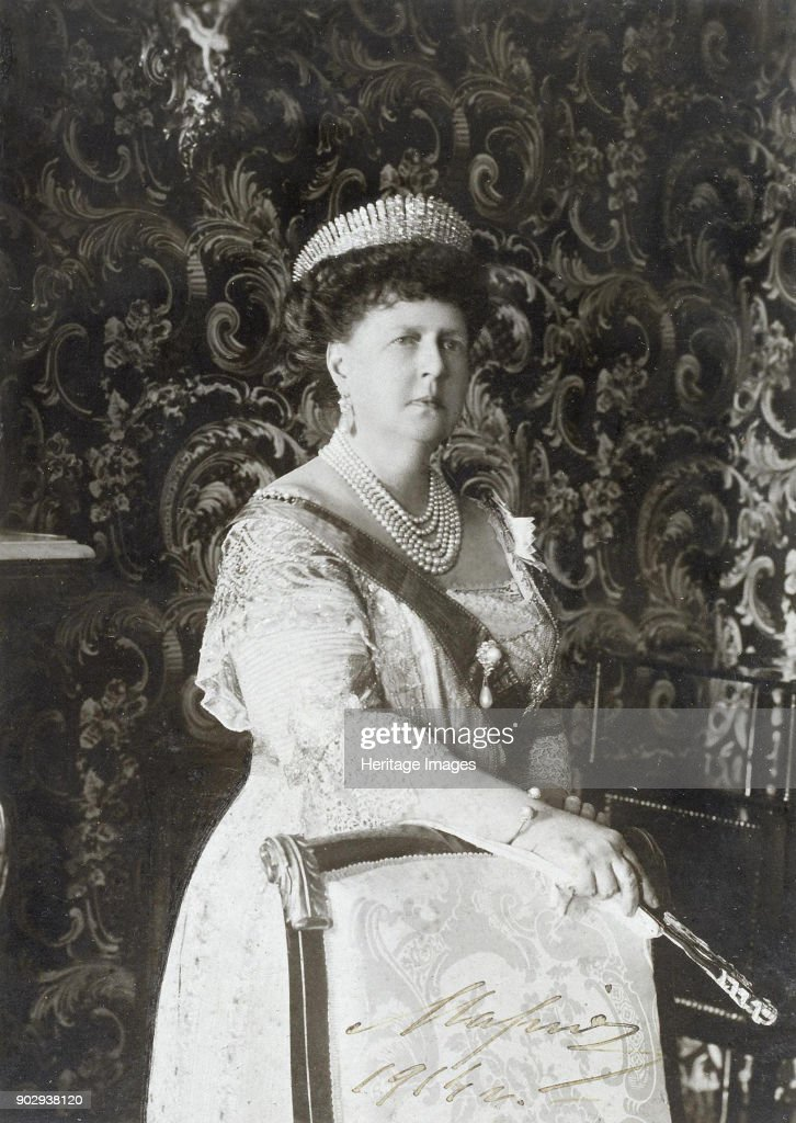 Grand Duchess Maria Alexandrovna Of Russia, Duchess Of Edinburgh And Duchess Of Saxe-Coburg And Gotha : News Photo