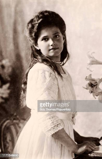 Grand Duchess Maria of Russia third daughter of the Czar and Czarina circa 1913