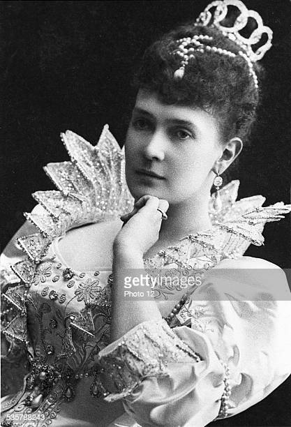 Grand Duchess Maria Pavlovna Née Princess of MecklenbourgSchwerin Married Vladimir Alexandrovich in Saint Petersburg August 16 1874