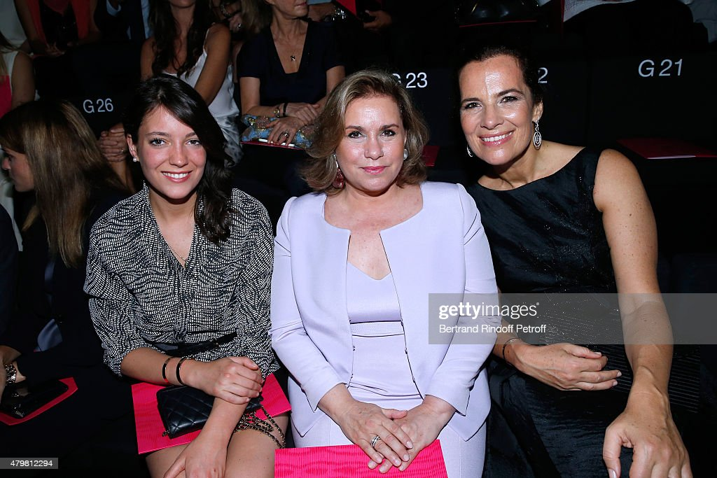 Giorgio Armani Prive : Front Row - Paris Fashion Week - Haute Couture Fall/Winter 2015/2016 : Foto jornalística