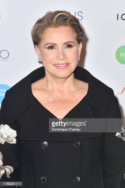 Grand Duchess Maria Teresa of Luxembourg attends the Prix De La Femme D'Influence De L'Annee at Palais Brongniart on November 25 2019 in Paris France