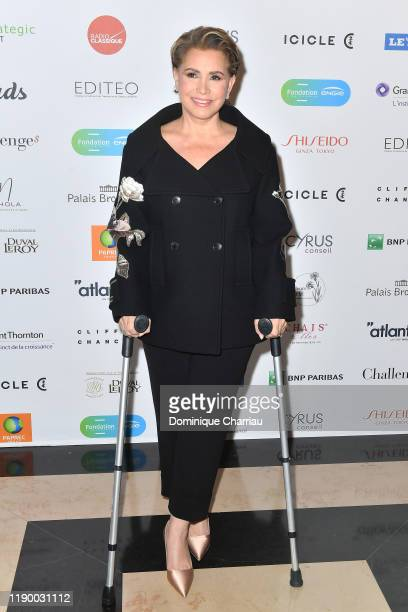 Grand Duchess Maria Teresa of Luxembourg attends the Prix De La Femme D'Influence De L'Annee at Palais Brongniart on November 25 2019 in Paris France