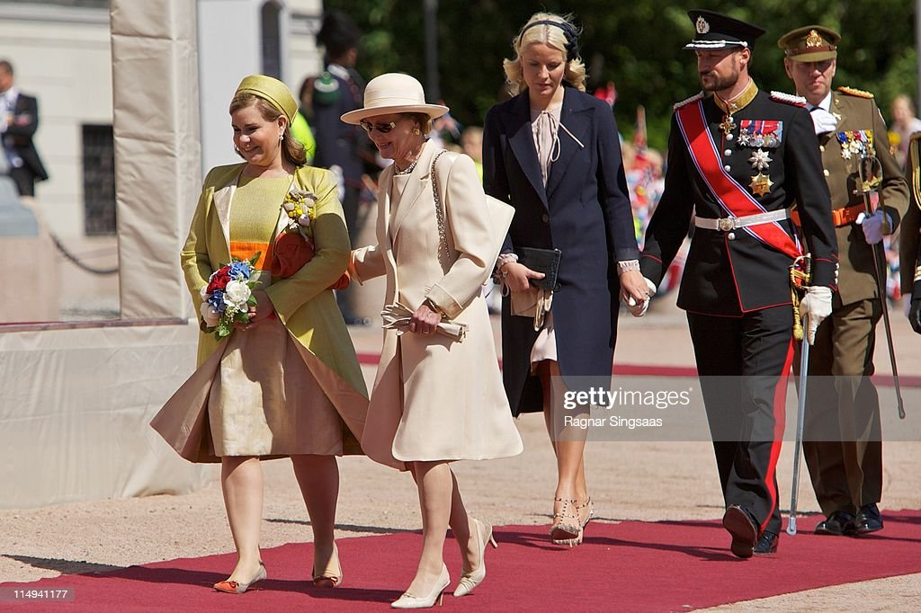 Norwegian Royals Host State Visit From Luxembourg - Day 1 : ニュース写真