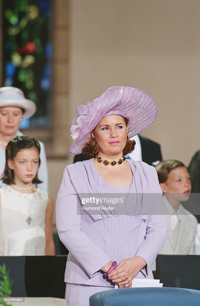 ROYALTY ATTENDS LUXEMBOURG'S NATIONAL HOLIDAY : News Photo