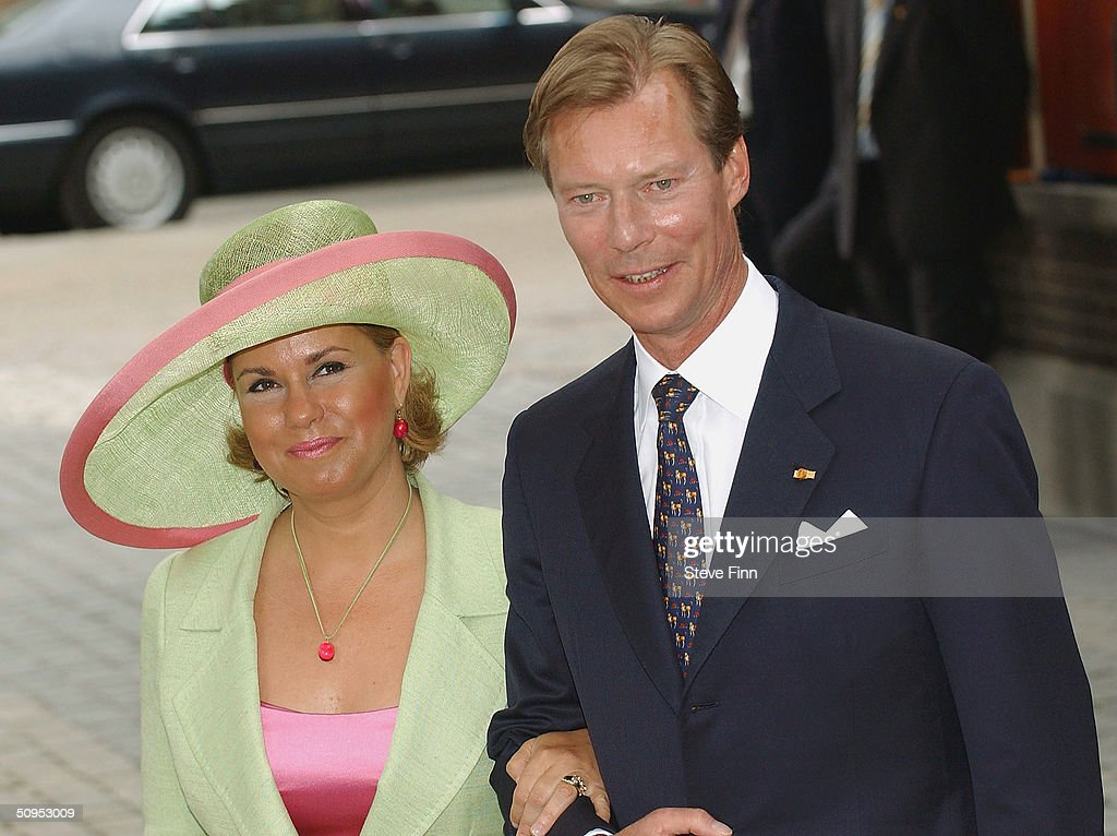 NL: Christening Of Princess Catharina-Amalia : News Photo