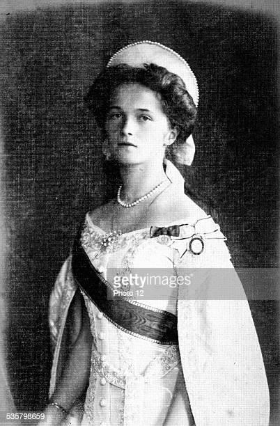 Grand Duchess Olga eldest daughter of Nicholas II and Alexandra Feodorovna