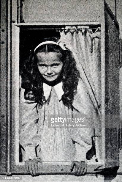 Grand Duchess Olga Nikolaevna of Russia eldest daughter of the last Tsar of the Russian Empire