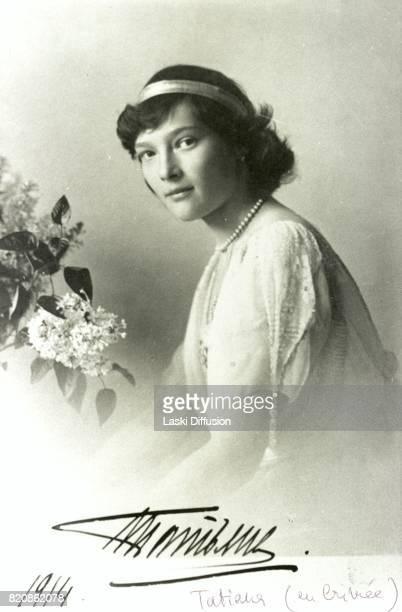 Grand Duchess Tatiana daughter of Tsar Nicholas II Romanov of Russia and Empress Alexandra Feodorovna Romanova Russia 1914